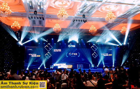 Âm Thanh Sự Kiện Cung Cấp Âm Thanh Ánh Sáng Chương Trình Gala trao giải Việt Nam Trading Challenge 2020