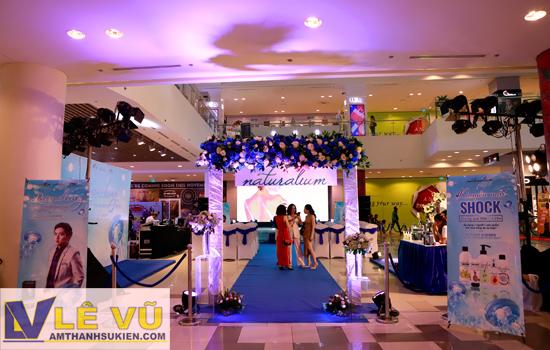 Amthanhsukien.com cung cấp giải pháp tổ chức sự kiện cho thương hiệu mỹ phẩm nổi tiếng toàn cầu Naturalium