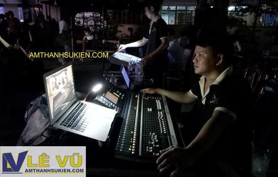 Cho thuê âm thanh ánh sáng, cho thuê màn hình led đêm nhạc Lời chưa nói trường THPT Nguyễn Công Trứ