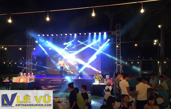 Cho thuê âm thanh ánh sáng đêm Gala Dinner Hyunhdai Thành Công tại Nha Trang