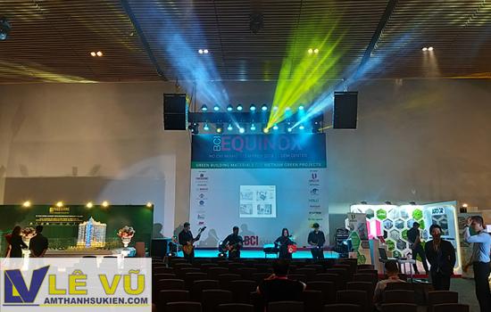 Cho thuê âm thanh ánh sáng chuyên nghiệp cho hội thảo, hội nghị, sự kiện trao giải, họp mặt
