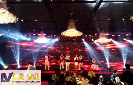 Cho thuê âm thanh ánh sáng lễ kỷ niệm 10 năm thành lập Indo Trans Keppel Logistics Việt Nam