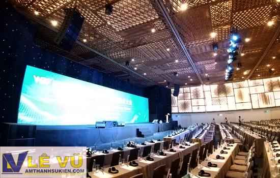 Cho thuê âm thanh ánh sáng sự kiện Hội ghị Công nghệ Việt Nam WBF 2019 tại Gem Center