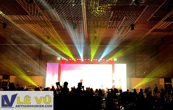 Cho thuê âm thanh ánh sáng tại Gem Center - Tri ân khách hàng Công ty Immica