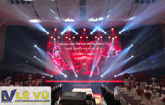 Cho thuê âm thanh ánh sáng tại Bình Phước