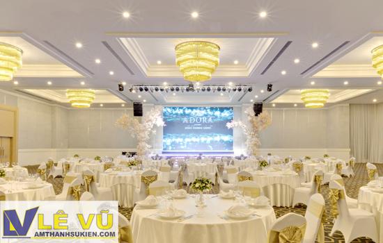 Công ty Lê Vũ cung cấp hệ thống ánh sáng cho tòa nhà The Adora Luxury