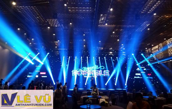 Cung cấp âm thanh ánh sáng, màn hình led, màn sao cho sự kiện tri ân khách hàng tập đoàn CMC